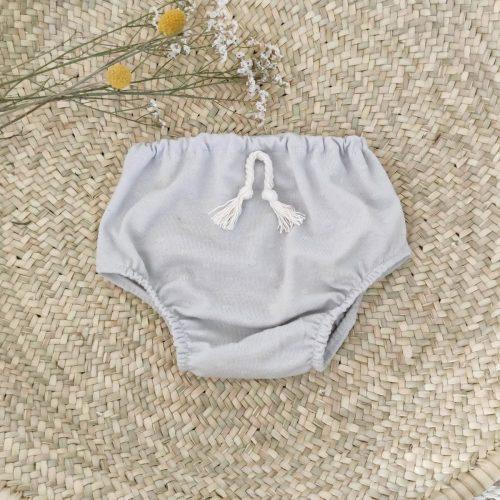 cubre pañal gris serie limitada
