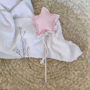 varita mágica rosa