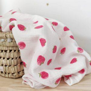 arrullo de bebe fresas