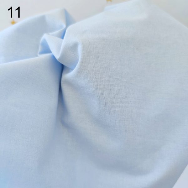 tela azul popelin