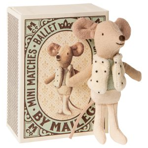 ratón ballet en bonita caja