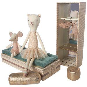 Gatita y ratón Bailarinas