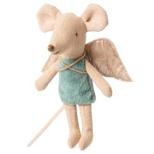 familia mini ratón angelito