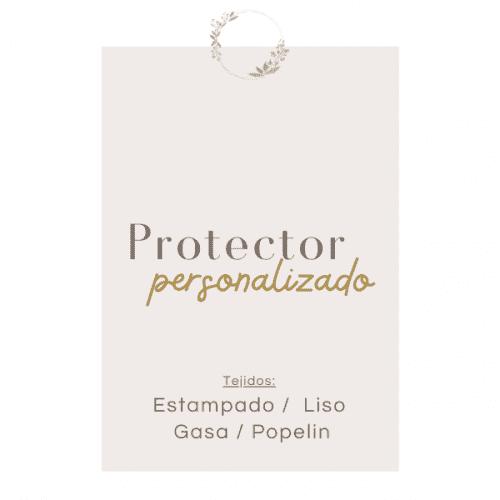 Protector de cuna personalizado