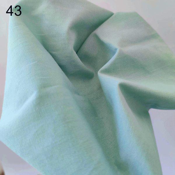 tela verde menta popelin