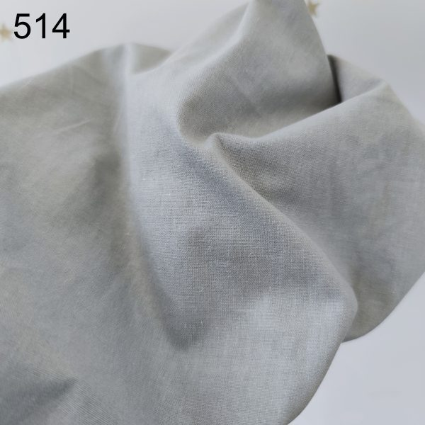 tela gris oscuro popelin