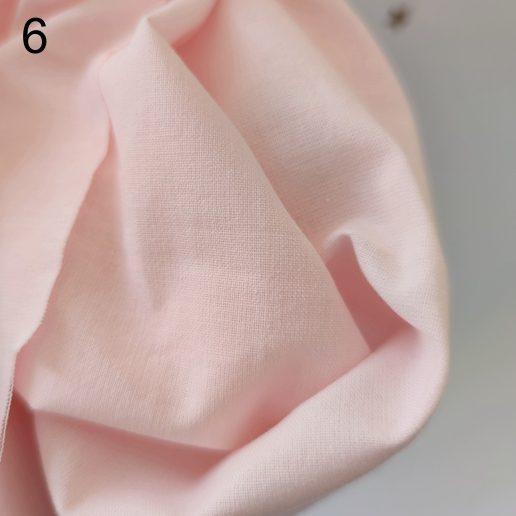 tela rosa claro popelin