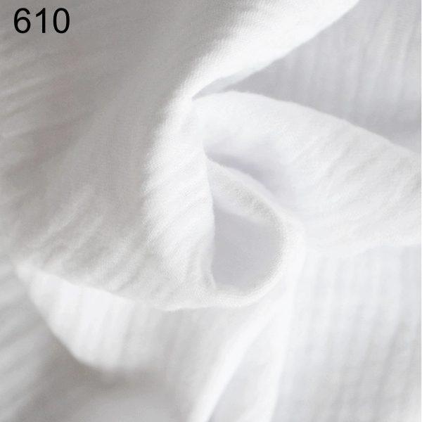 tela blanca doble gasa