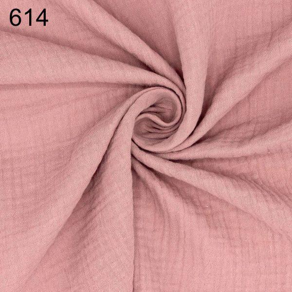 tela rosa vintage doble gasa