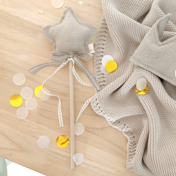 Varita mágica lino natural