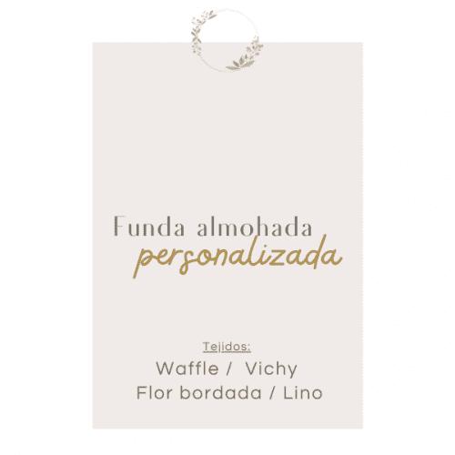 """Funda Almohada Personalizada """"EDICIÓN LIMITADA"""""""