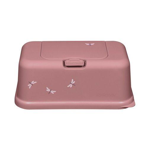 caja de toallitas Rosa Libélula mate